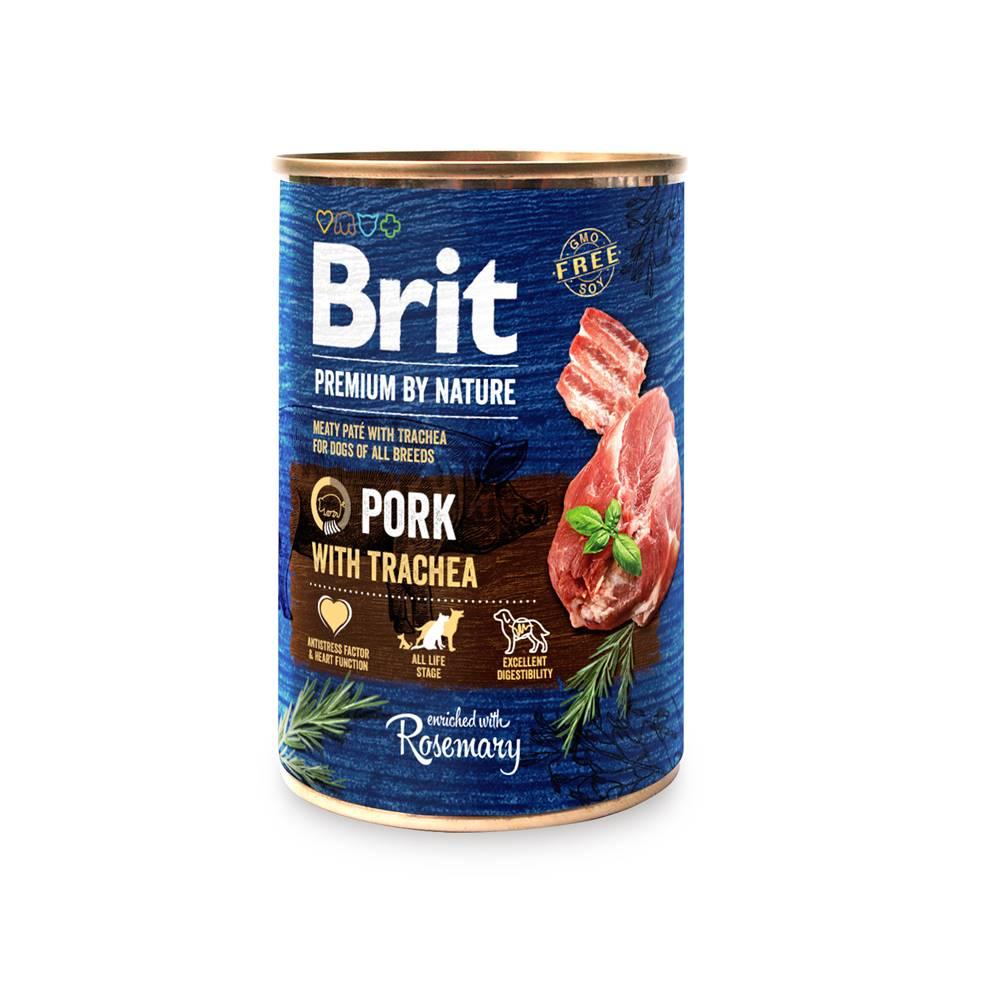 Brit BRIT dog Premium by Nature PORK with TRACHEA - 400g