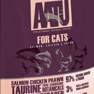 AATU  cat  kapsa SALMON / CHICKEN / PRAWN - 85g