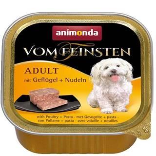 ANIMONDA dog paštika ADULT 150g - Hydinové/rezance