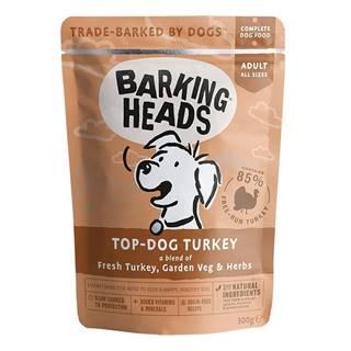 Barking Heads vrecko TOP dog TURKEY - 300g