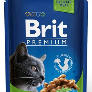 BRIT cat  vrecko   STERILISED 100g - Kuracie