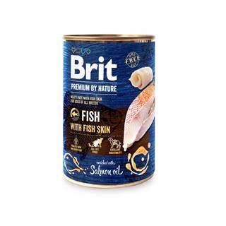 BRIT dog Premium by Nature FISH with FISH skin - 400g