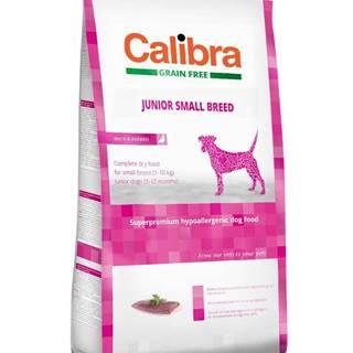 CALIBRA dog GF JUNIOR small kačacina - 2kg