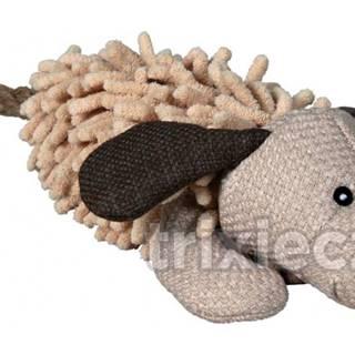 HRAČKA plyšový PES s chvostom z lana - 30cm
