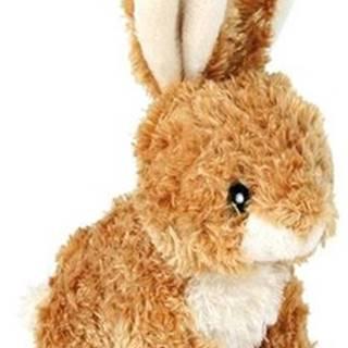 HRAČKA plyšový zajačik sediaci - 15cm
