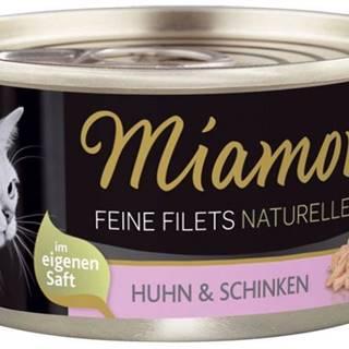 MiamorFilet cat konzerva Feine Filets 100g - Tuniak a ryža