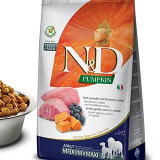 N&D dog GF PUMPKIN ADULT M/L lamb/blueberry - 2,5kg