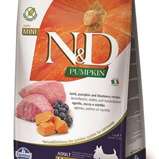 N&D dog GF PUMPKIN ADULT MINI lamb/blueberry - 800g
