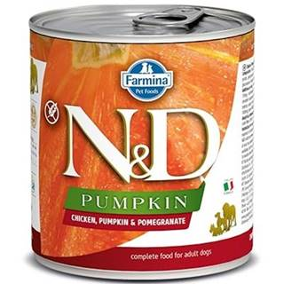 N&D dog GF PUMPKIN konz. ADULT chicken/pomegranate - 285g
