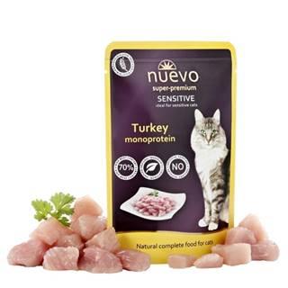 NUEVO cat kapsa  SENSITIVE TURKEY - 85g