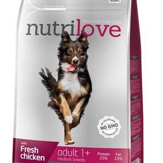 NUTRILOVE pes ADULT  medium - 1,6kg