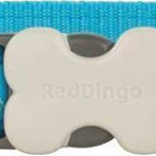 Obojek RD BUTTERFLY turquoise - 1,2/20-32cm