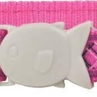 Obojek RD  cat FLANNO hot pink - 1,2/20-32cm