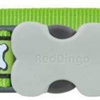 Obojok RD Reflective green - 1,2/20-32cm