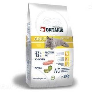 ONTARIO cat  ADULT NDOOR - 2 kg