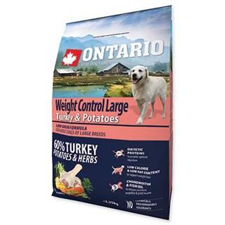 ONTARIO dog WEIGHT CONTROL LARGE turkey - 2.25kg