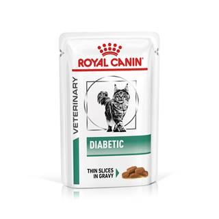 Royal Canin Veterinary Health Nutrition Cat DIABETIC vrecko - 85g