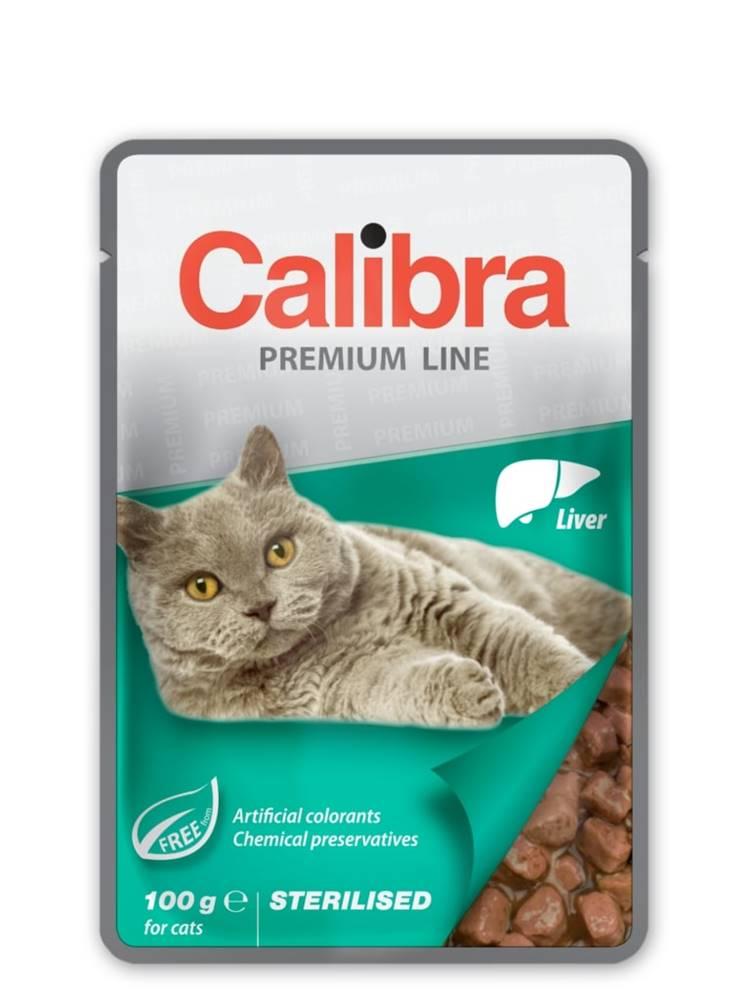 Calibra CALIBRA cat kapsa STERILISED LIVER - 100g