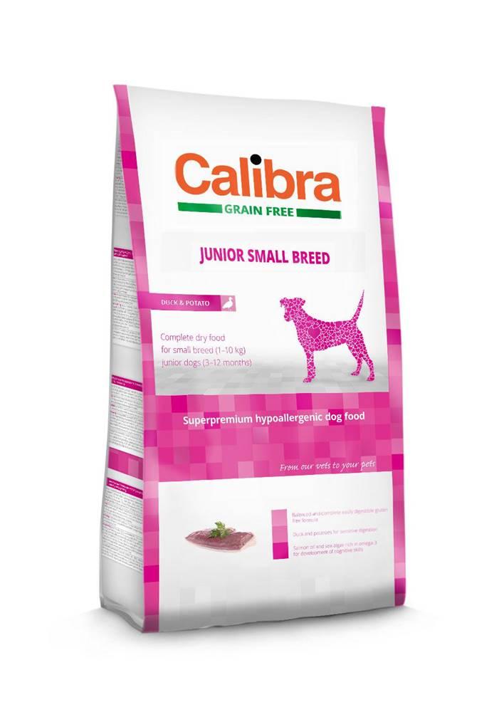 Calibra CALIBRA dog GF JUNIOR small kačacina - 2kg