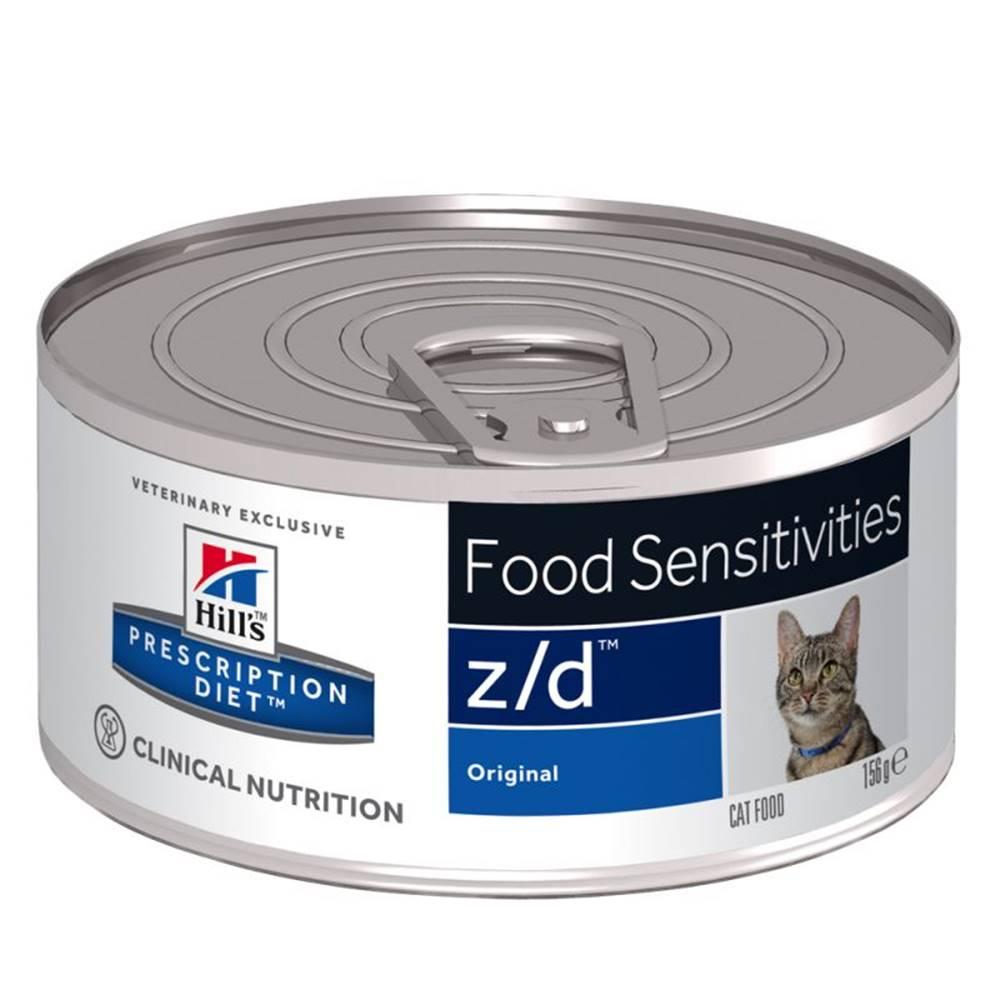 Hills Hills cat  z/d   konz. Ultra Allergen Free - 156g