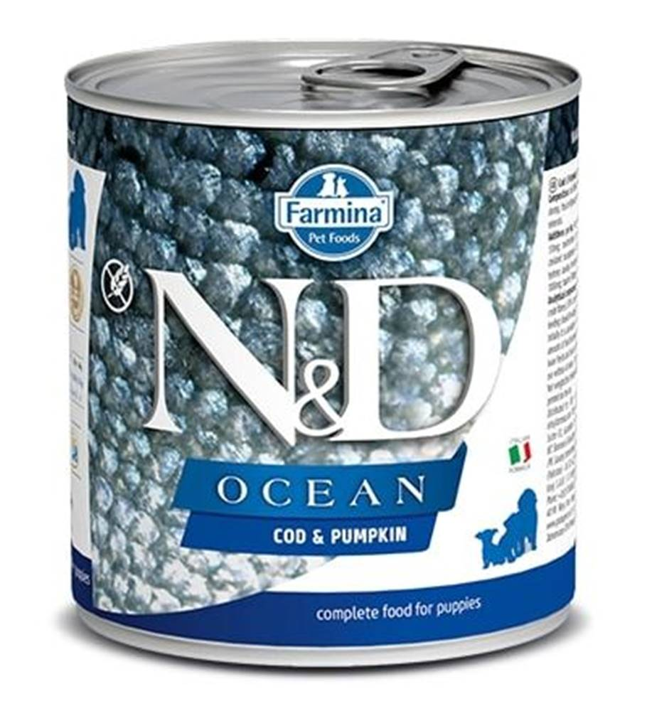 Natural&Delicious N&D dog OCEAN konz. PUPPY codfish/pumpkin - 285g
