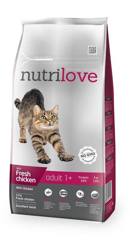 Nutrilove NUTRILOVE cat ADULT - KURACIE 1,5kg