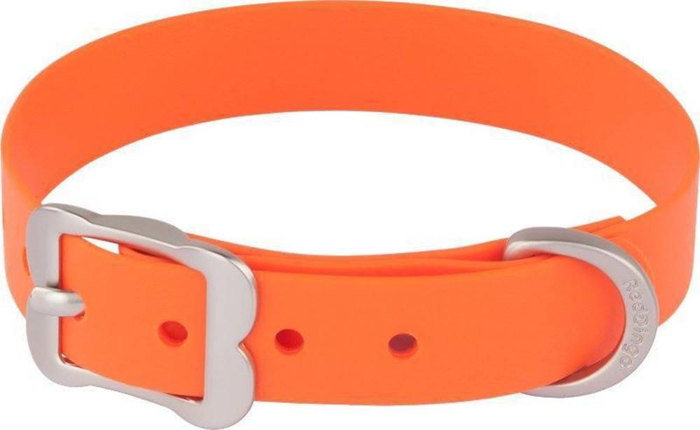 Red-dingo Obojek RD VIVID oranžové - 2,0/28-36cm