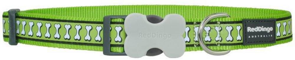 Red-dingo Obojok RD Reflective green - 1,2/20-32cm