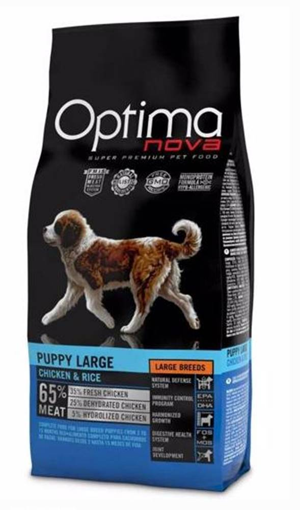 Optimanova OPTIMAnova dog  PUPPY LARGE - 2kg