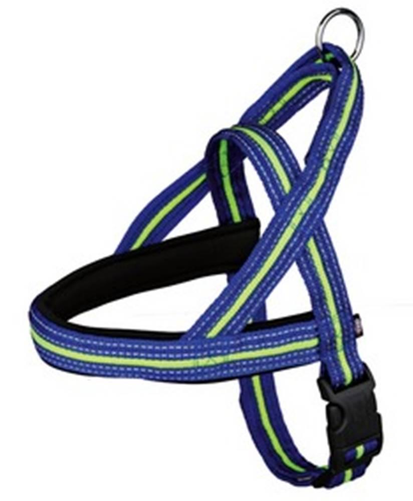 (bez zařazení) Postroj  FUSION neoprem modro/zelený - 3,5/60-76cm