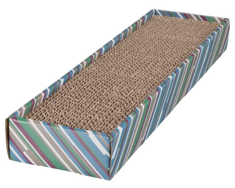 Trixie Škrabacie kartón Scratchy s catnipom - 13x48cm