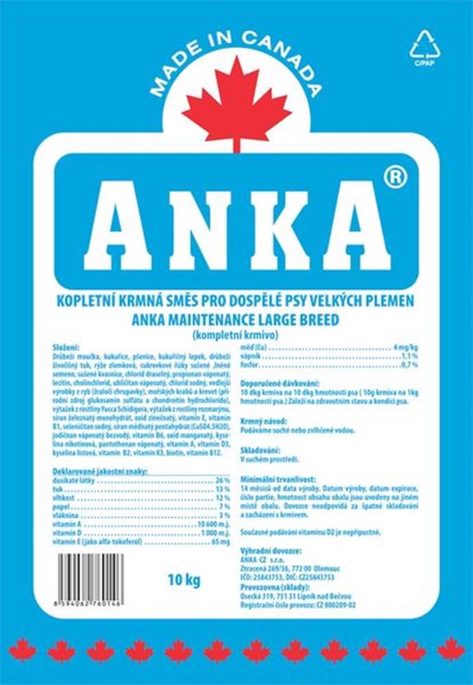 Anka ANKA Maintenance Large Breed - 10kg
