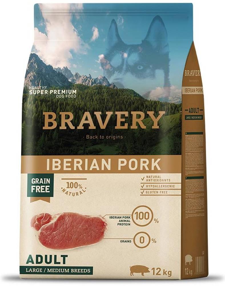 Bravery BRAVERY dog ADULT large/medium IBERIAN PORK - 4kg