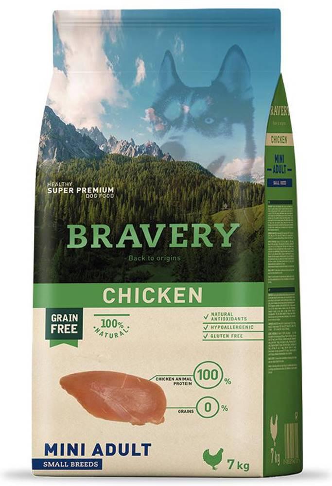Bravery BRAVERY dog ADULT mini CHICKEN - 2kg