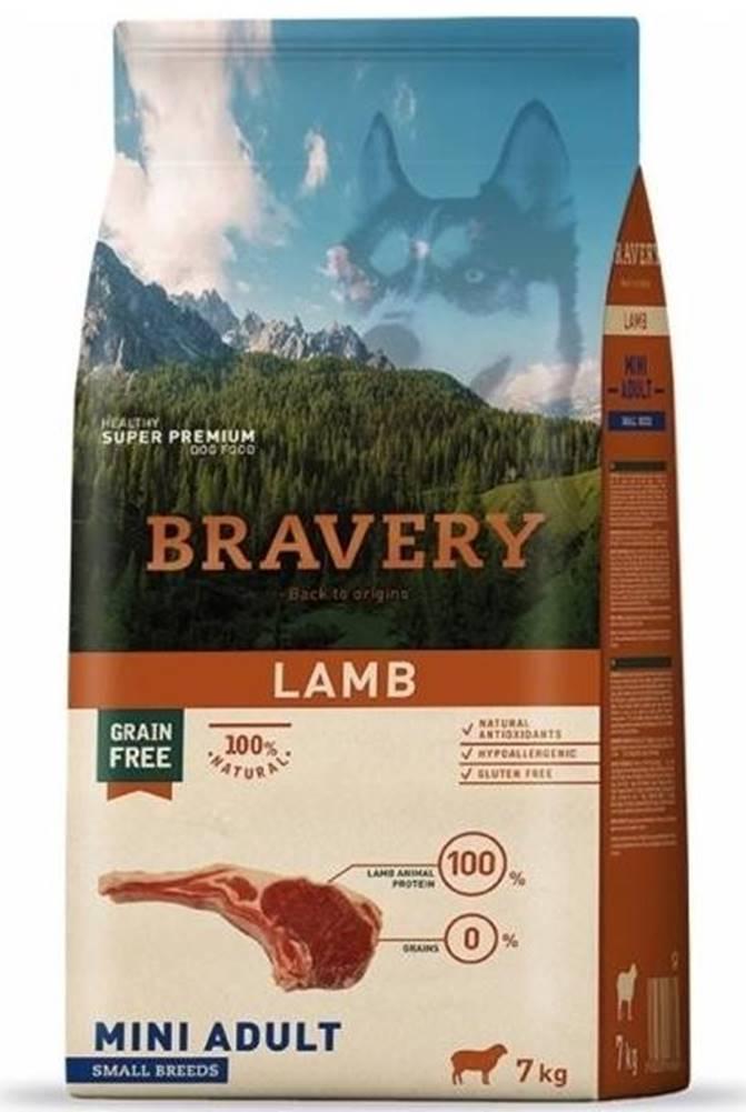 Bravery BRAVERY dog ADULT mini LAMB - 2kg