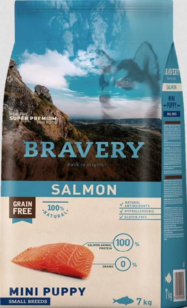 Bravery BRAVERY dog PUPPY mini SALMON - 400g