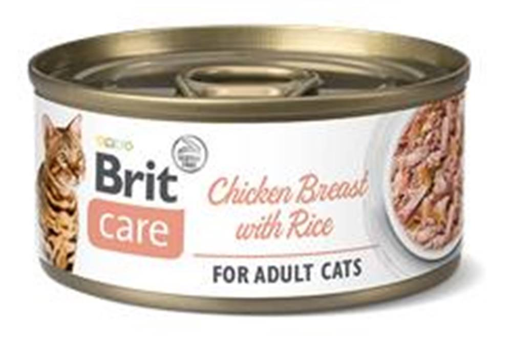 Brit Care BRIT CARE cat konz. ADULT  CHICKEN/breast/rice - 70g