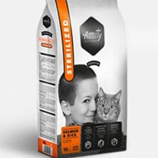 AMITY premium cat STERILISED salmon/rice - 1,5kg