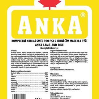 ANKA Lamb and Rice - 10kg