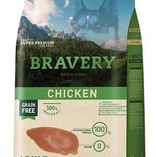 BRAVERY dog ADULT large/medium CHICKEN - 4kg