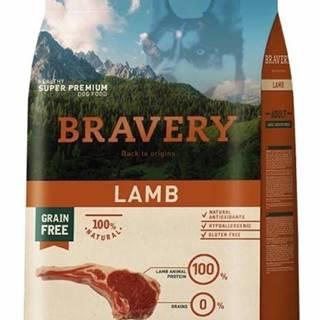 BRAVERY dog ADULT large/medium LAMB - 4kg