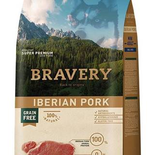 BRAVERY dog ADULT mini IBERIAN PORK - 2kg
