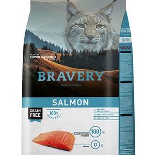 BRAVERY kočka ADULT losos - 400g