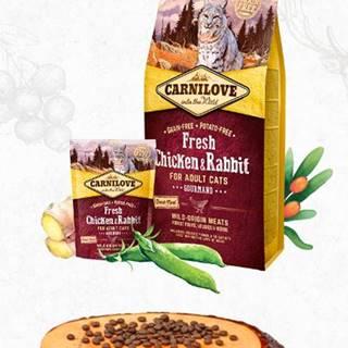 CARNILOVE cat   FRESH ADULT CHICKEN/rabbit - 400g