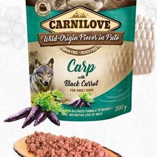 CARNILOVE dog  kapsa  PATÉ CARP/black carrot - 300g