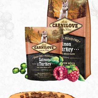 CARNILOVE PUPPY large SALMON/turkey - 1,5kg