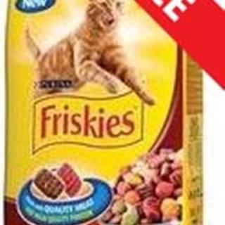 FRISKIES cat suché mäsová zmes - 10kg