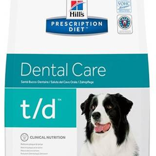 Hills Canine  t/d  (dieta) - 3kg