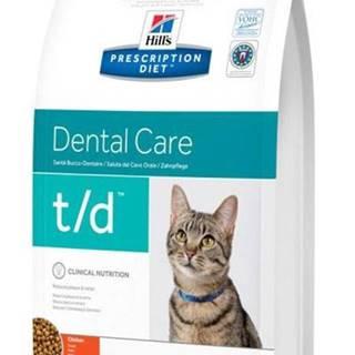 Hills cat  t/d  dental - 5kg