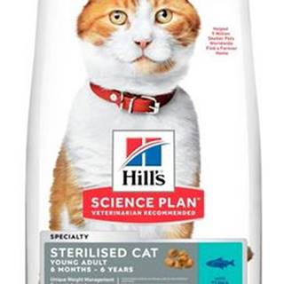 Hills cat  YOUNG adult STERIL/tuna - 3kg